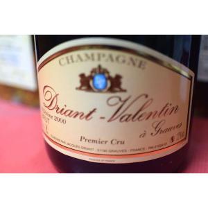 シャンパン スパークリングワイン ドリアン・ヴァランタン / プルミエ・クリュ・ブリュット・ミレジム [2000]|wineholic