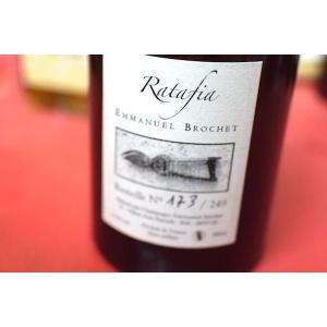 甘口ワイン デザートワイン エマニュエル・ブロシェ / ラタフィア [2009] 500ml【甘口ワイン】|wineholic