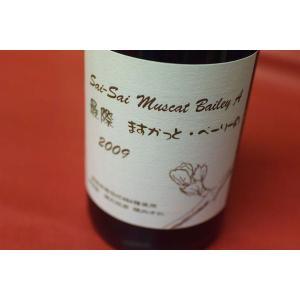 赤ワイン ダイヤモンド酒造 / 最際 マスカットベリーA [2009]|wineholic