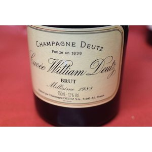 シャンパン スパークリングワイン ドゥーツ / キュヴェ・ウイリアム・ドゥーツ [1988]|wineholic