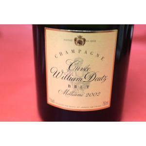 シャンパン スパークリングワイン ドゥーツ / キュヴェ・ウイリアム・ドゥーツ [2002]|wineholic