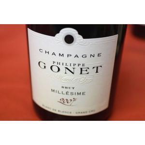 シャンパン スパークリングワイン フィリップ・ゴネ / ブラン・ド・ブラン・グラン・クリュ・ブリュット [2007] wineholic
