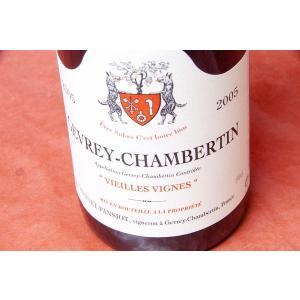 赤ワイン ジャンテ・パンショ / ジェヴレ・シャンベルタン・ヴィエイユ・ヴィーニュ [2005]|wineholic