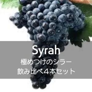 極めつけのシラー飲み比べ3本セット【ワインセット】|wineholic