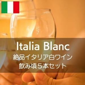 絶品イタリア白ワイン飲み頃5本セット!【ワインセット】|wineholic