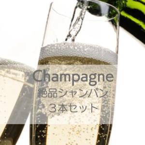 フランス・シャンパーニュ絶品シャンパン3本セット!【ワインセット】|wineholic