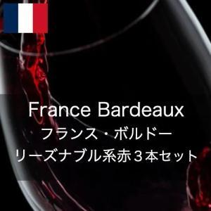 ワインセット フランス・ボルドー・リーズナブル・得旨3本セット【ワインセット】|wineholic