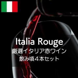 厳選イタリア赤ワイン飲み頃4本セット【ワインセット】|wineholic