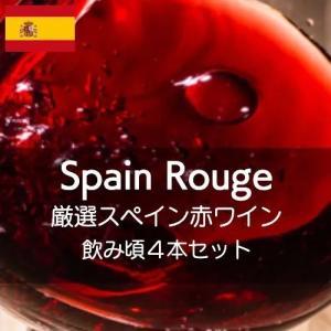ワインセット 厳選スペインワイン赤飲み頃4本セット【ワインセット】|wineholic