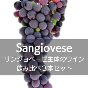 サンジョベーゼ主体のワイン飲み比べ3本セット!【ワインセット】|wineholic