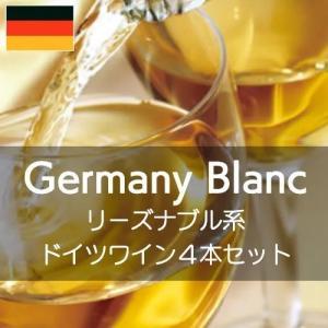 リーズナブル系ドイツ白ワイン得旨4セット【ワインセット】|wineholic