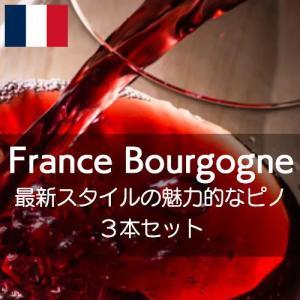 フランス・ブルゴーニュ・最新スタイルの魅力的なピノ・ノワールを堪能する【ワインセット】|wineholic
