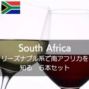 リーズナブル系ワインで南アフリカを知る【ワインセット】|wineholic