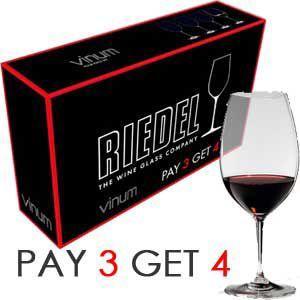 ワイングラス 超お得なリーデル ヴィノム シラー バリュー・パック(4本セット)|wineholic
