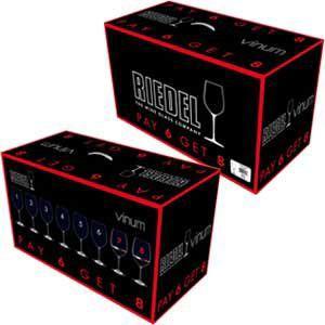 ワイングラス 超お得なリーデル ヴィノム ボルドー バリュー・パック (8本セット)|wineholic