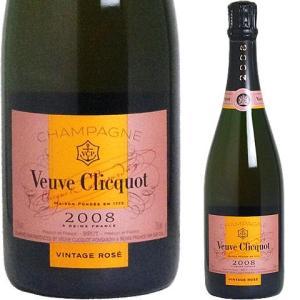 (BOXなし) ヴーヴ・クリコ ヴィンテージ・ロゼ2008 ワイン ギフト プレゼント 贈り物 お祝い お酒|winekan