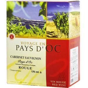【BOXよりどり6個で送料無料】<赤>ヴォヤージ バッグインボックス カベルネ・ソーヴィニヨン 3,000ml ボックスワイン 箱ワイン BOXワイン|winekan