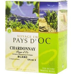 【BOXよりどり6個で送料無料】<白>ヴォヤージ バッグインボックス シャルドネ 3,000ml ボックスワイン 箱ワイン BOXワイン|winekan
