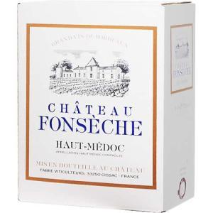 【BOXよりどり6個で送料無料】 <赤> シャトー・フォンセッシュ AOCオー・メドック バッグインボックス 3,000ml BOXワイン ボックスワイン 箱ワイン|winekan