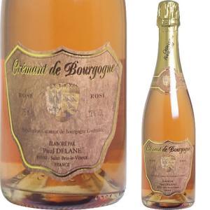 (ロゼ) クレマン・ド・ブルゴーニュ ブリュット ロゼ (N/V) ポール・デラン|winekan