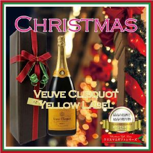 クリスマスラッピングギフト ヴーヴ・クリコ・イエロー・ラベル750ML(正規輸入品使用) |winekatayama
