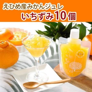 【お試し価格】美味しい! みかんゼリー【柑橘ジュレ】10個入り簡易箱入り4〜5種類の味が楽しめます