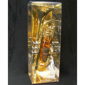 ラプリエール トランペット ゴールド ミニセット(リキュール)ミニチュアボトル|winekatayama