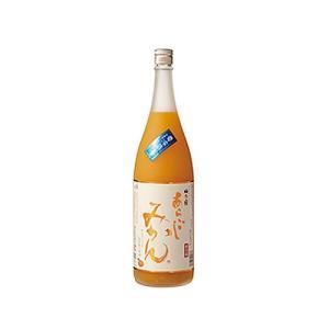 梅乃宿 あらごしみかん酒 1800ml