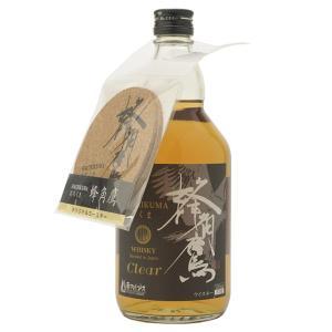 蜂角鷹 クリア 700ml /国産ウイスキー ブレンデッドウイスキー|winenet