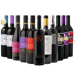 【送料無料】4組のワインメーカーがデイリーワインを真面目に考えた赤ワイン11本セット|winenet