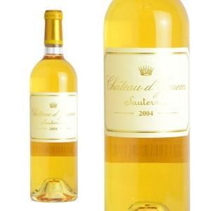 シャトー・ディケム 2004年 ソーテルヌ格付特別第1級 AOCソーテルヌ (白ワイン・フランス / ボルドー)|wineuki