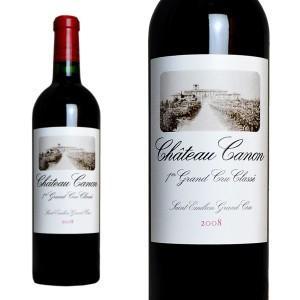 シャトー・カノン 2008年 750ml AOCサンテミリオン 第一特別級 (ボルドー 赤ワイン)