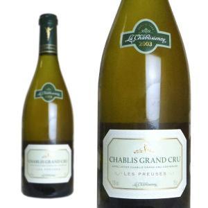 シャブリ グラン・クリュ レ・プルーズ 2003年 ラ・シャブリジェンヌ 750ml 正規 (フランス ブルゴーニュ 白ワイン)|wineuki