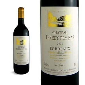 シャトー テリー・ペイ・バ 2006年 AOCボルドー (赤ワイン・フランス)|wineuki