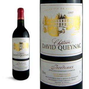 シャトー ダヴィド・ケナック 2007年 AOCボルドー (赤ワイン・フランス)|wineuki
