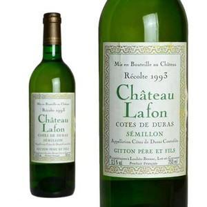 シャトー・ラフォン コート・ド・デュラス セミヨン 1993年 ジトン・ペール・エ・フィス (フランス・白ワイン)|wineuki