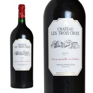 シャトー・レ・トロワ・クロワ 2012年 1500ml マグナムサイズ AOCフロンサック (ボルドー 赤ワイン)