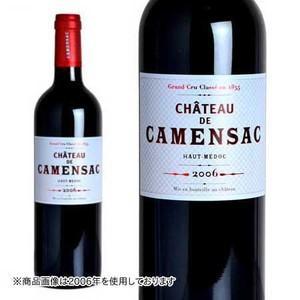 シャトー・ド・カマンサック 2007年 AOCオー・メドック 750ml (ボルドー 赤ワイン) 6本お買い上げで送料無料&代引手数料無料