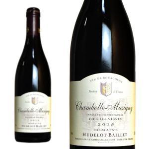 シャンボール・ミュジニー V.V. 2015年 ドメーヌ・ユドロ・バイエ 正規 750ml (フランス ブルゴーニュ 赤ワイン)|wineuki