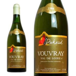 ヴーヴレ ドゥミ・セック 1964年 カーヴ・デュアール(ダニエル・ガテ) 750ml (フランス ロワール 白ワイン)|wineuki