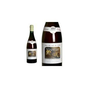 ヴーヴレ ドゥミ・セック 1953年 カーヴ・デュアール(ダニエル・ガテ) 750ml (フランス ロワール 白ワイン)|wineuki