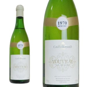 ヴーヴレ ドゥミ・セック 1970年 カーヴ・デュアール ダニエル・ガテ 750ml (フランス ロワール 白ワイン)|wineuki