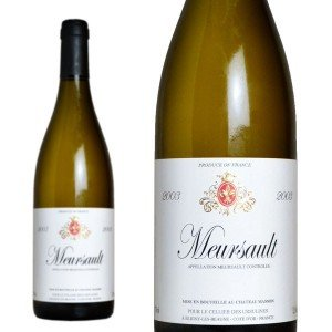 ムルソー 2003年 セリエ・デ・ウルシュリーヌ 750ml (ブルゴーニュ 白ワイン)