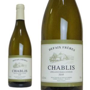 シャブリ 2016年 ドメーヌ・ベルナール・ドゥフェ AOCシャブリ (フランス・白ワイン)|wineuki
