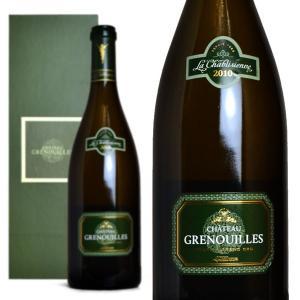 シャブリ グラン・クリュ シャトー・グルヌイユ 2010年 ラ・シャブリジェンヌ 箱入り 750ml (フランス ブルゴーニュ 白ワイン)|wineuki