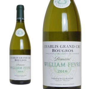 シャブリ グラン・クリュ ブーグロ 2016年 ドメーヌ・ウィリアム・フェーヴル 750ml 正規 (フランス ブルゴーニュ 白ワイン)|wineuki