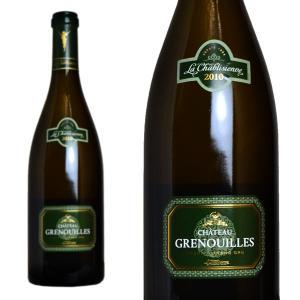 シャブリ グラン・クリュ シャトー・グルヌイユ 2011年 ラ・シャブリ・ジェンヌ 750ml (フランス ブルゴーニュ 白ワイン)|wineuki