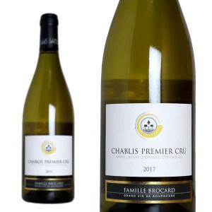 シャブリ プルミエ・クリュ 2017年 ジャン・マルク・ブロカール 750ml 正規 (フランス ブルゴーニュ 白ワイン)|wineuki