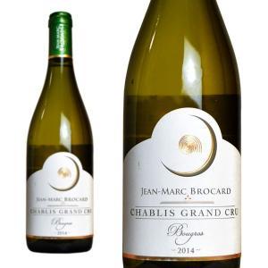 シャブリ グラン・クリュ ブーグロ 2014年 ドメーヌ・ジャン・マルク・ブロカール 750ml (フランス ブルゴーニュ 白ワイン)|wineuki