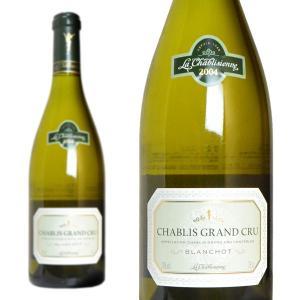 シャブリ グラン・クリュ レ・ブランショ 2004年 ラ・シャブリジェンヌ 750ml (フランス ブルゴーニュ 白ワイン)|wineuki